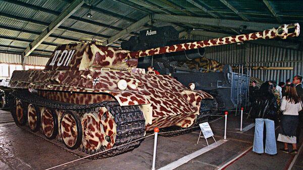 Немецкий танк Т-VG Пантера в музее вооружения Кубинке