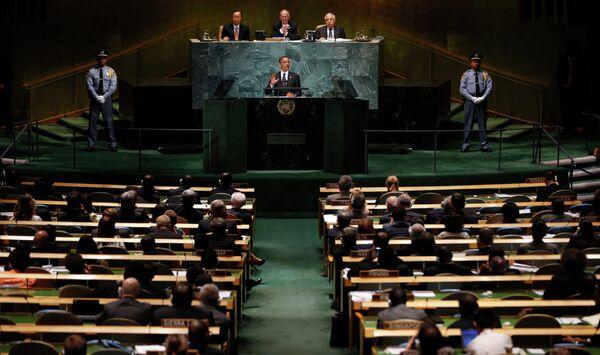 Выступление президента США Барака Обамы на саммите ООН