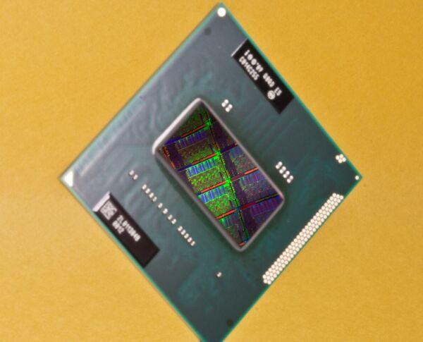 Настольная версия нового процессора Sandy Bridge со встроенным графическим ядром.