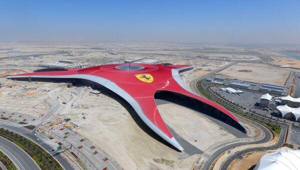 Тематический парк Ferrari World Abu Dhabi