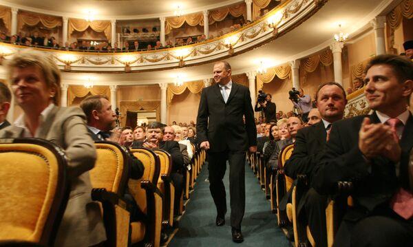 Инаугурация губернатора Калининградской области Николая Цуканова