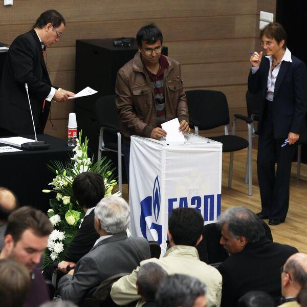 Илет голосование на выборах президента ФИДЕ в рамках Конгресса Международной шахматной федерации