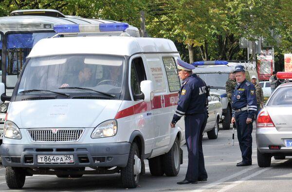 Автомобиль ВАЗ-2107 с взрывчаткой обнаружили возле кафе в Ставрополе