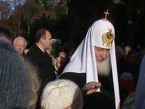 Патриарх посетил Калининградскую епархию