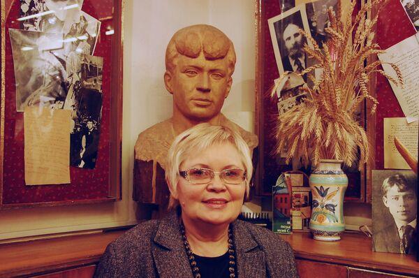 Светлана Николаевна Шетракова, директор Московского государственного музея Сергея Есенина