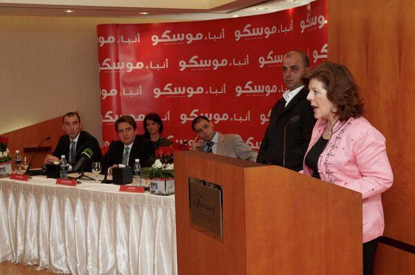 Дубай - пресс-конференция Анба Моску