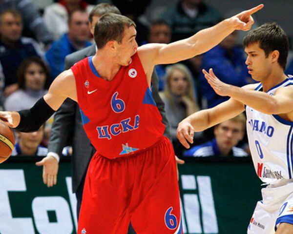 Чемпионат России по баскетболу начался с уверенной победы ЦСКА