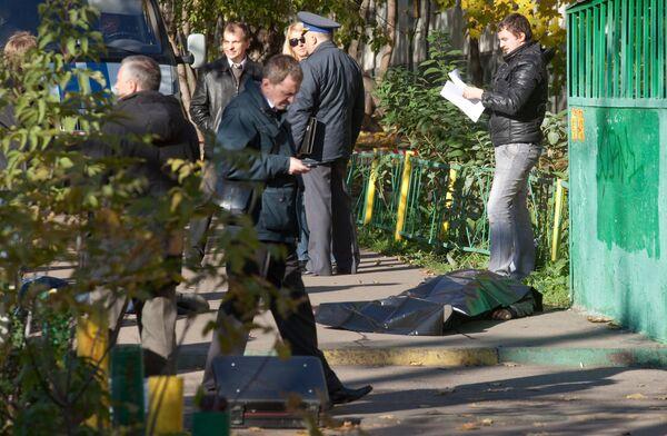 В Моске неизвестные расстреляли двух мужчин