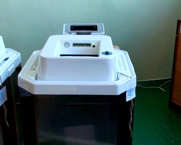 Говорящие урны для голосования опробовали на выборах в Челябинске