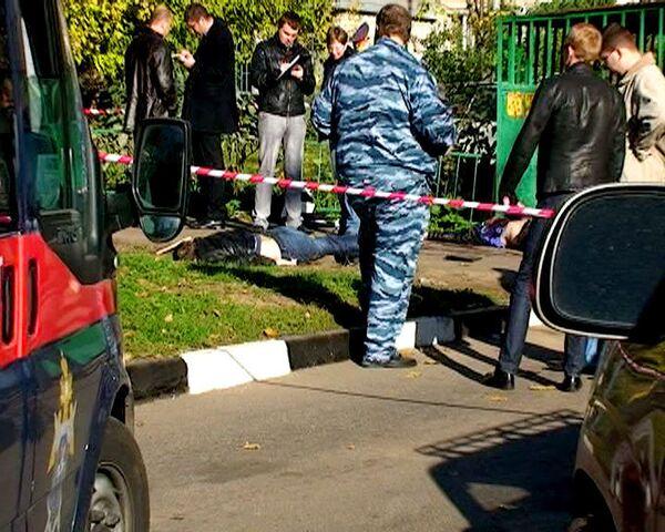 Двоих предпринимателей застрелили на юге Москвы