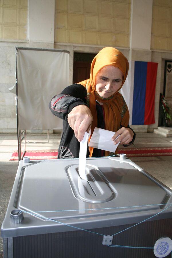 Выборы в республике Дагестан