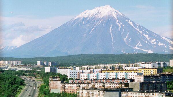 Город Петропавловск-Камчатский. Архивное фото
