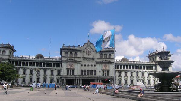 Президентский дворец в Гватемале. Архивное фото
