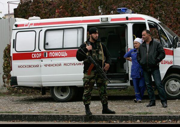 Теракт у здания парламента Чечни в Грозном