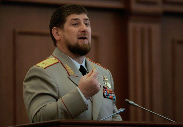 Заседание парламента Чечни, посвященное нападению боевиков
