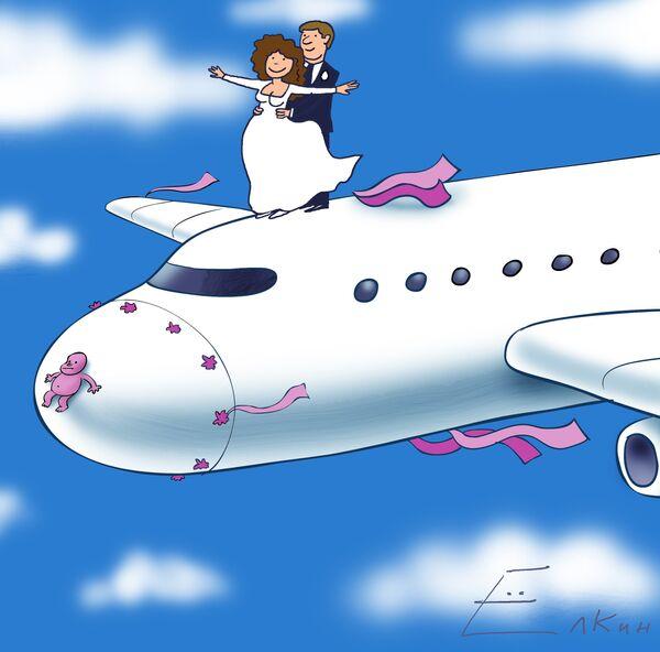 Открытки с самолетами смешные, новым годом