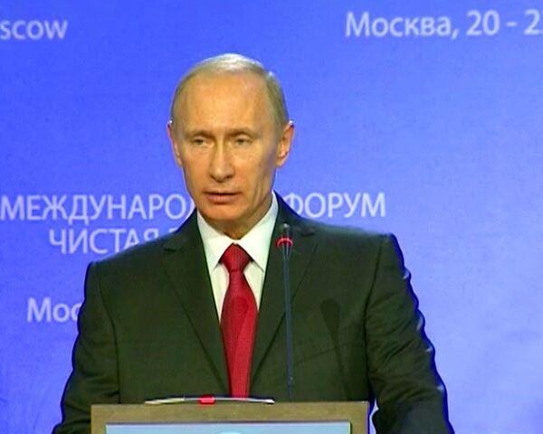 Путин знает, какое отношение к воде должно стать правилом хорошего тона