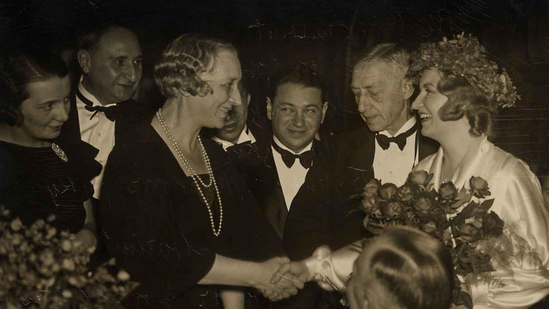 Иван Бунин на церемонии вручения Нобелевской премии, 1933 год  - РИА Новости, 1920, 10.10.2020