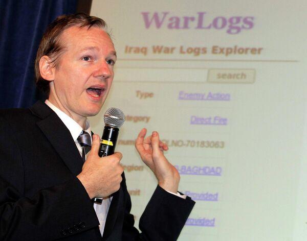 Сайт WikiLeaks опубликовал около 400 тысяч документов, имеющих отношение к военной операции США в Ираке