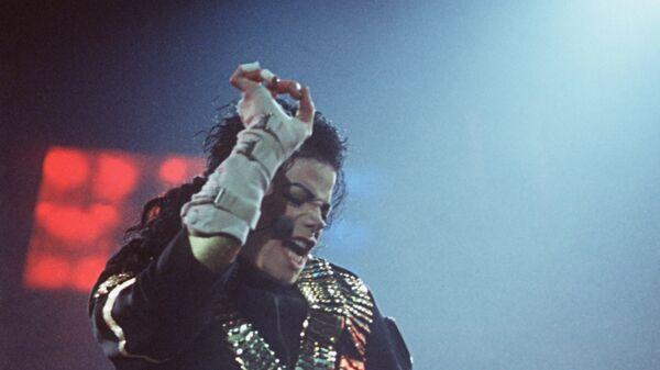 Концерт американской поп-звезды Майкла Джексона