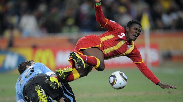 Футбол. ЧМ-2010. Матч Уругвай - Гана - 1:1 (4:2 – по пенальти)