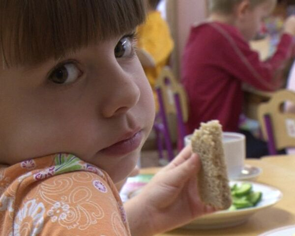 Пищевые привычки формируем с детства