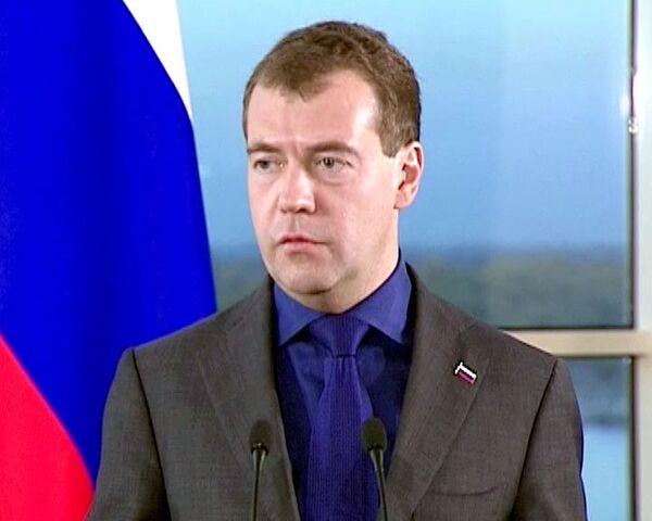 Медведев ждет от Госдумы содержательных новелл к закону О полиции