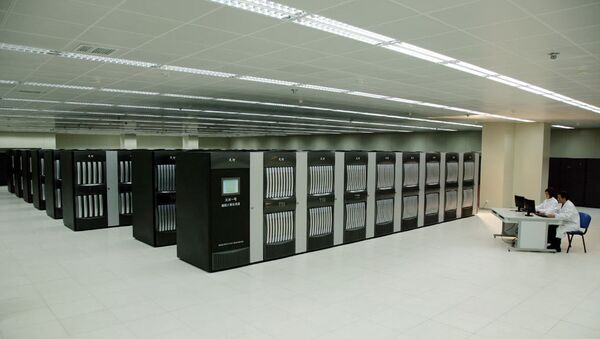 Суперкомпьютер Tianhe-1A. Архивное фото
