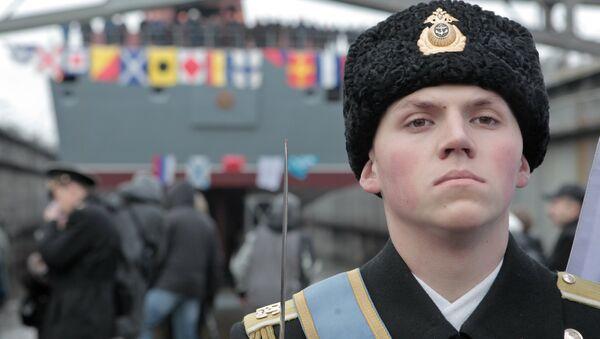 Курсант ВМФ РФ. Архивное фото