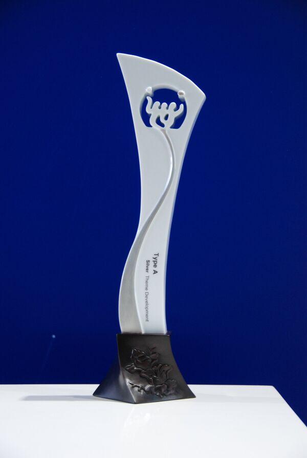 Российский павильон на ЭКСПО-2010 в Шанхае завоевал серебряный приз