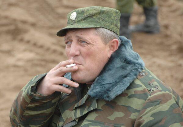 Исполняющий обязанности командира Тульского соединения ВДВ полковник Алексей Наумец. Архив