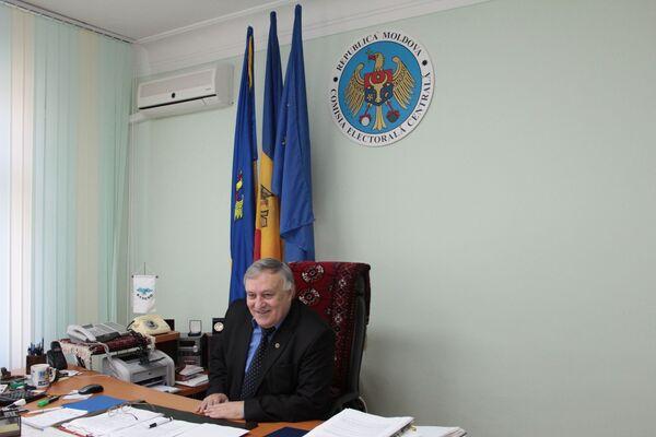 Председатель ЦИК Молдавии Евгений Штирбу