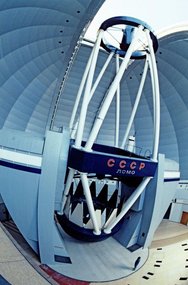БТА - универсальный астрономический инструмент. Архив