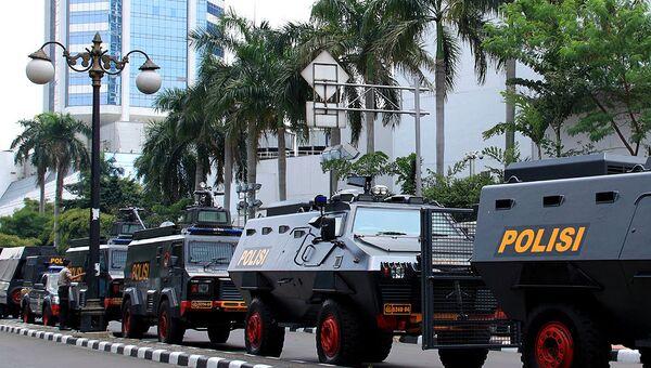 Полиция Индонезии. Архивное фото