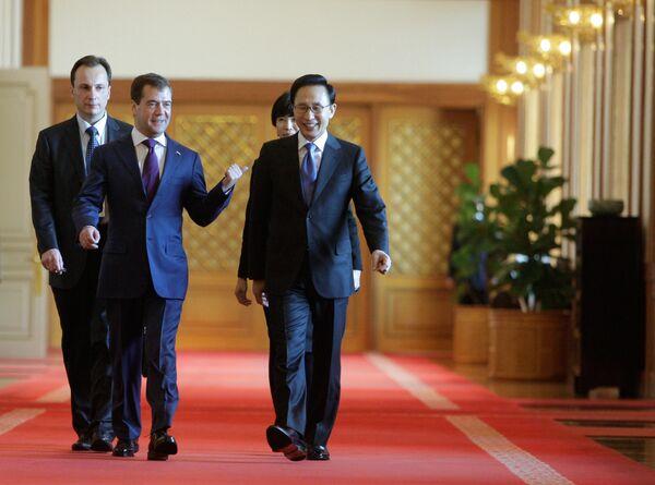 Российско-корейские переговоры