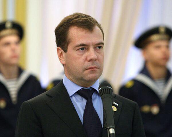 Медведев привезет из Южной Кореи флаг легендарного крейсера Варяг