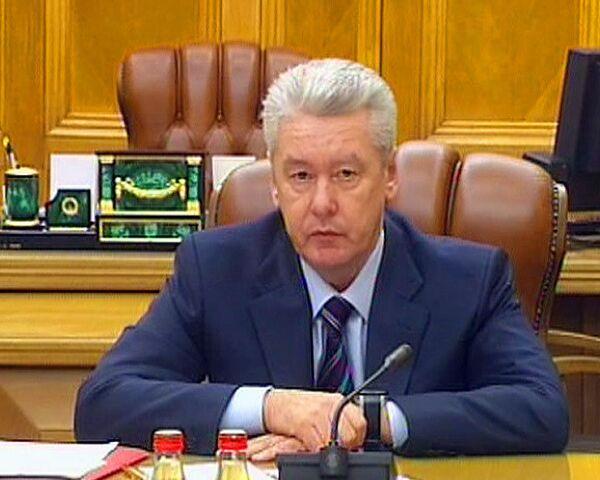 Собянин раскритиковал Москву за отсталость информационных технологий