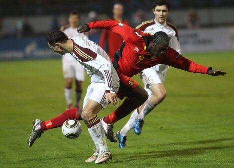 Сборная России по футболу потерпела поражение от команды Бельгии