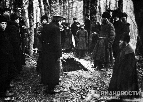 Похороны Льва Николаевича Толстого