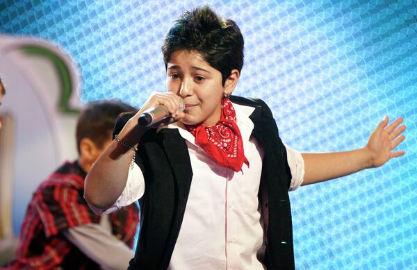 Победитель детского песенного конкурса Евровидение-2010 Владимир Арзуманян