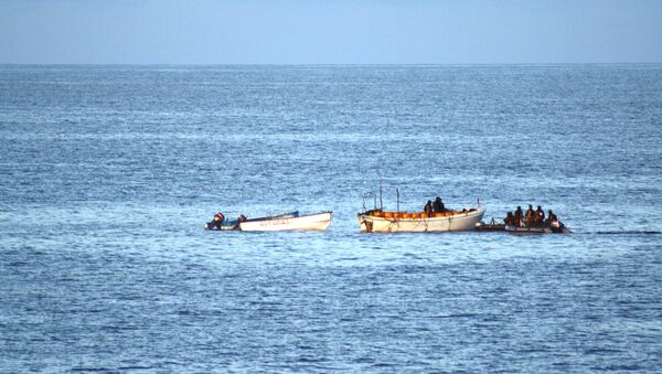 ВМС Ирана отбили нападение пиратов на танкер у берегов Сомали. Архивное фото.