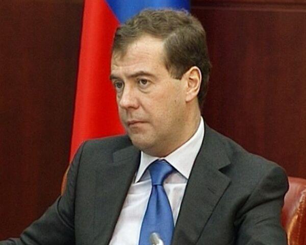 Жительница бывшего военного городка пожаловалась Медведеву на разруху