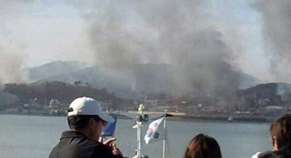Артиллерия КНДР обстреляла южнокорейский остров