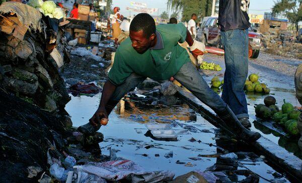 Эпидемия холеры на Гаити