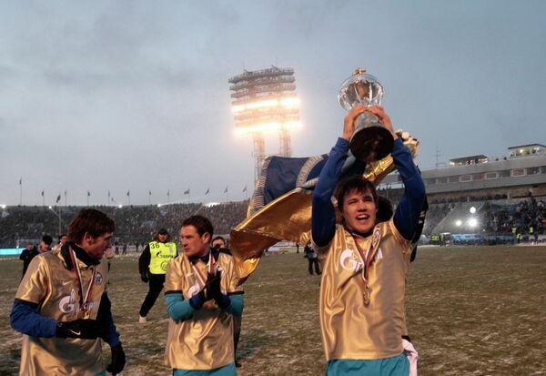 Футболисты Зенита