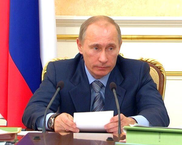 Путин велел составить перечень поручений по итогам послания президента
