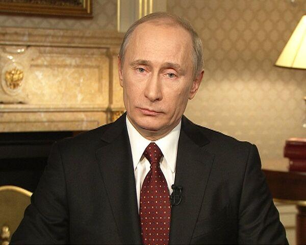 Путин уверен, что Россия обязана отвечать на угрозы у своих границ