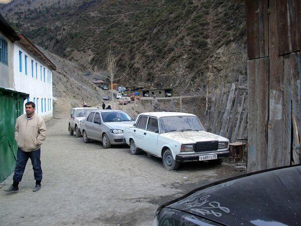 Дагестанское село Цибари