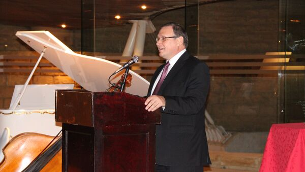Посол РФ в королевстве Саудовская Аравия Олег Озеров. Архив