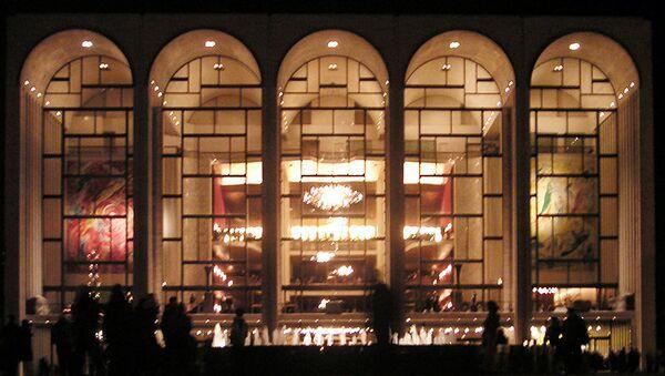 Метрополитен-опера. Архивное фото